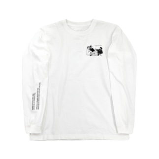草上の昼食 Long sleeve T-shirts