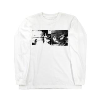 無頼派naked Long sleeve T-shirts