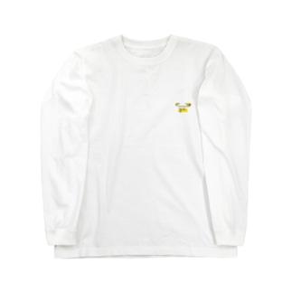 イエローピンA Long sleeve T-shirts