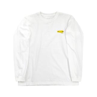 イエローピンB Long sleeve T-shirts