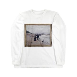 「Les berges de la Seine」 Béraud, Jean/Paris Musées Long sleeve T-shirts