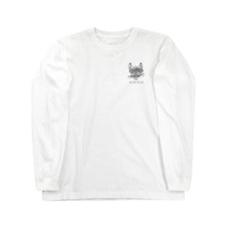 「猫」 Long sleeve T-shirts