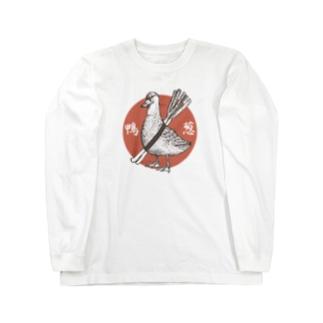 鴨葱 Long sleeve T-shirts