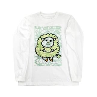 ひつじ Long sleeve T-shirts
