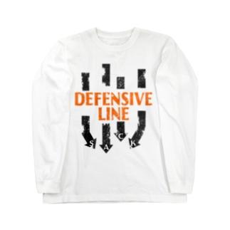 DL-SACK HARD Long sleeve T-shirts