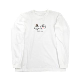 むぎ60 Long sleeve T-shirts