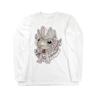 うろこさん Long sleeve T-shirts