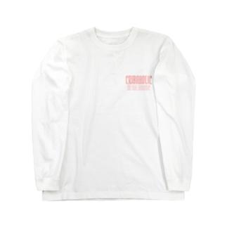 "CRIBAHOLIC ""Rose"" Long sleeve T-shirts"