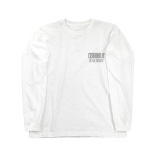 "CRIBAHOLIC ""Smoke"" Long sleeve T-shirts"