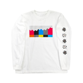 Color Bar Arp Long sleeve T-shirts