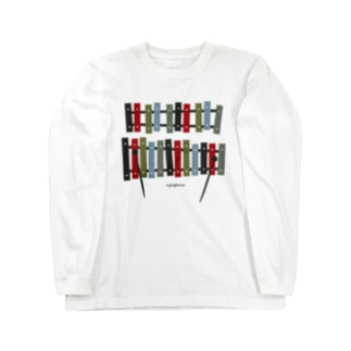 木琴 xylophone Long sleeve T-shirts