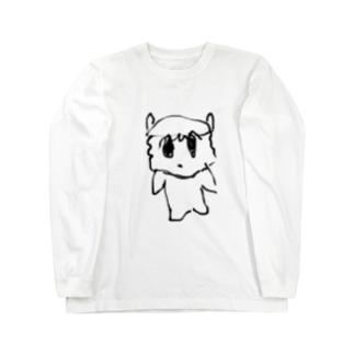 シンプルむりんちゃん Long sleeve T-shirts