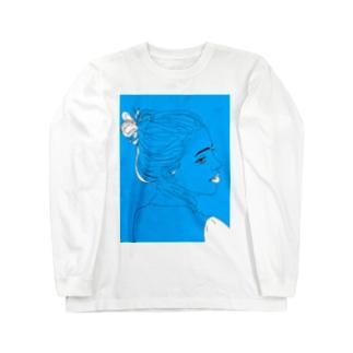染 Long sleeve T-shirts