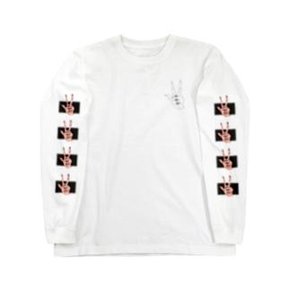 「手」 Long sleeve T-shirts