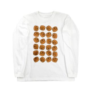 おでん・大根 Long sleeve T-shirts