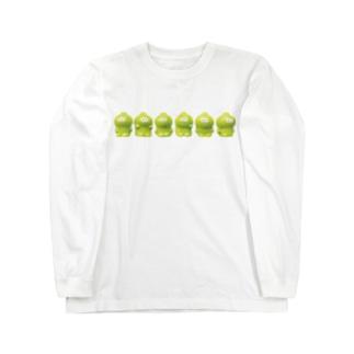 3106号室の整列ベビィミトロ Long sleeve T-shirts