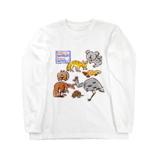 オーストラリアアニマル(500円募金) Long sleeve T-shirts