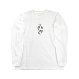 つぼにんげん Long sleeve T-shirts