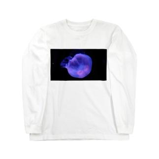 宇宙くらげ Long sleeve T-shirts