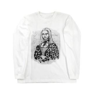 わるいリザ Long sleeve T-shirts