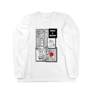 マクー&ミヅネ Long sleeve T-shirts