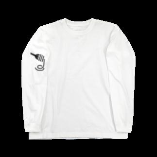 spoonのmg.(もっぐ) Long sleeve T-shirts