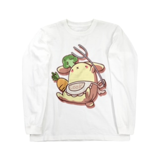 COOK_RABBIT Long sleeve T-shirts