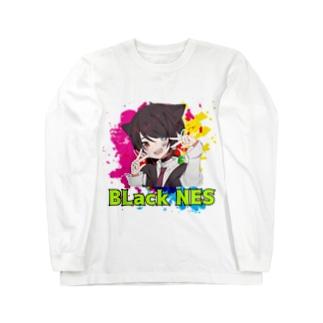 ファングッズ!ブラックNES大集合! Long sleeve T-shirts