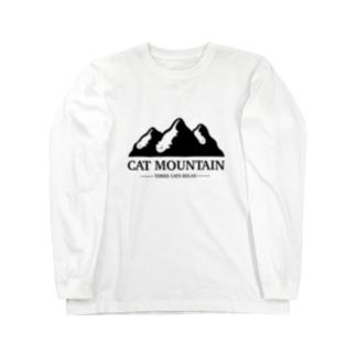 CAT MOUNTAIN Long sleeve T-shirts