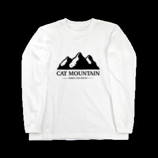 CRAFT ROOMのCAT MOUNTAIN Long sleeve T-shirts