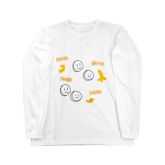 BANANA Long sleeve T-shirts