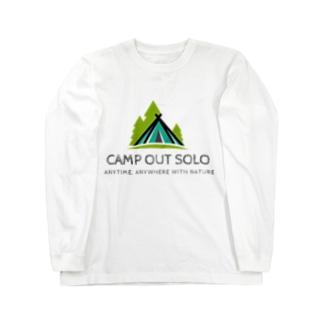 ソロキャンパーロゴ Long sleeve T-shirts
