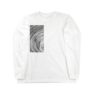 87のグルグル Long sleeve T-shirts