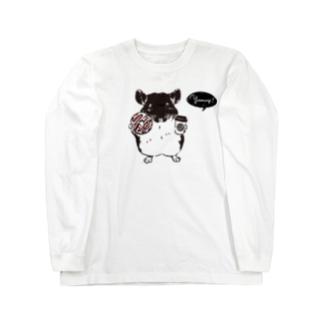 チンチラ cafe|テイクアウト Long sleeve T-shirts