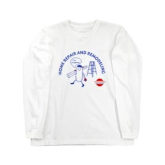 カーペンターナッツB Long sleeve T-shirts