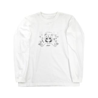 星の雨 Long sleeve T-shirts
