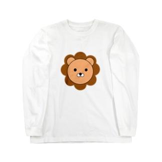 ライオンさん Long sleeve T-shirts