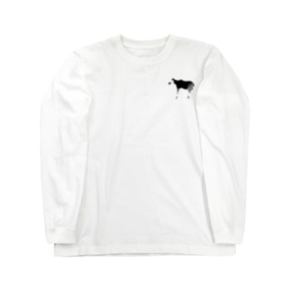 オカピ Long sleeve T-shirts