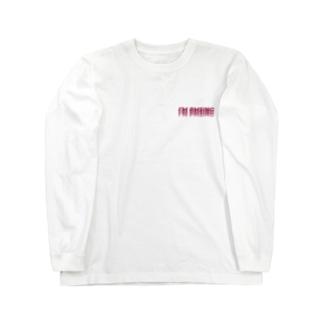 I'M PMSING(私いまPMSなんだ) Long sleeve T-shirts