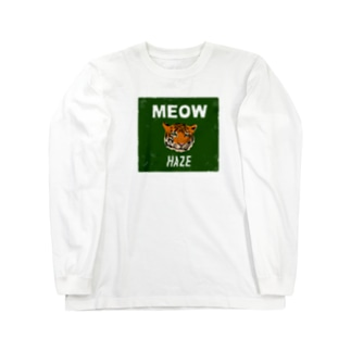MEOWタイガー Long sleeve T-shirts