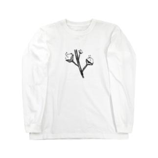コットンな菌 Long sleeve T-shirts