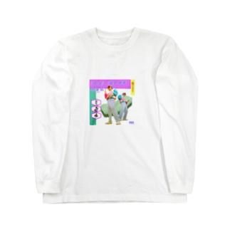 にゅーひとたち Long sleeve T-shirts