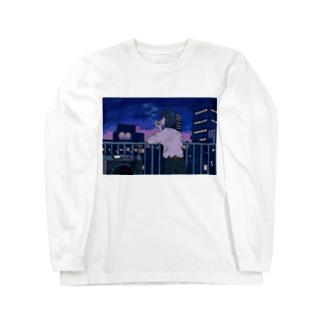 ベランダ Long sleeve T-shirts