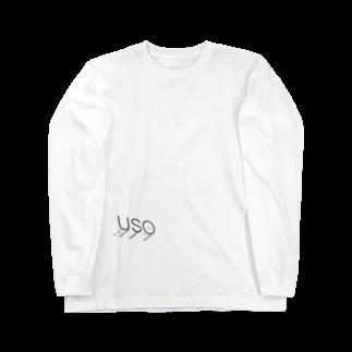 *MONOGATARIの嘘の嘘 Long sleeve T-shirts