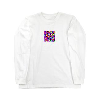 カラフル Long sleeve T-shirts
