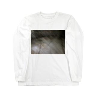 手ブレ Long sleeve T-shirts