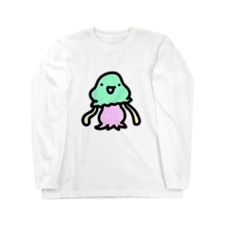 謎の宇宙人コペトン Long sleeve T-shirts