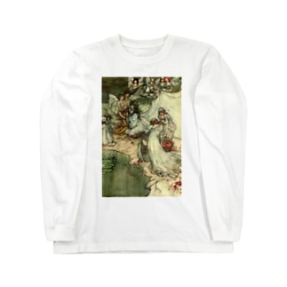 Vintage Fairies Long sleeve T-shirts