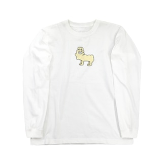 アルパカさん Long sleeve T-shirts