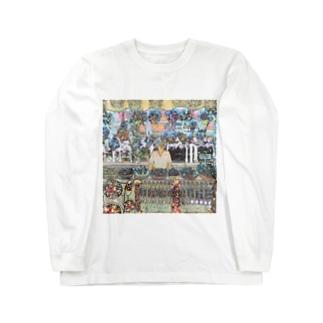 CG絵画:土産物店 CG art: Souvenier shop Long sleeve T-shirts